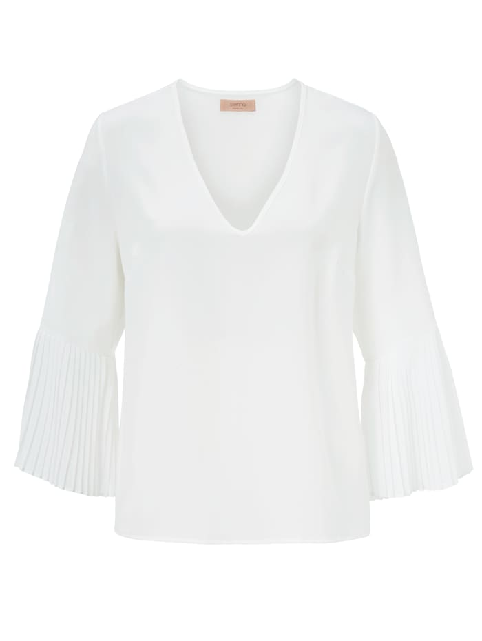 SIENNA Bluse, Off-white