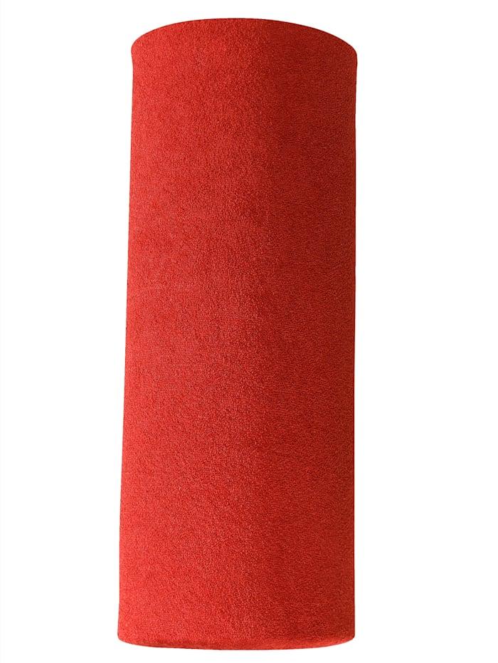 Webschatz Frottee-Stretch Spannbettlaken, Rot