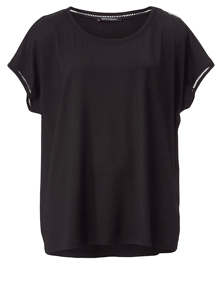 Shirt mit Hohlsaum