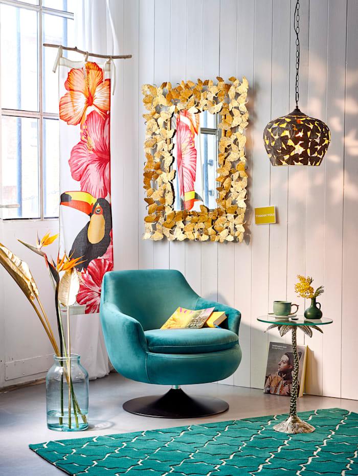 IMPRESSIONEN living Organdy-Vorhang, Multicolor
