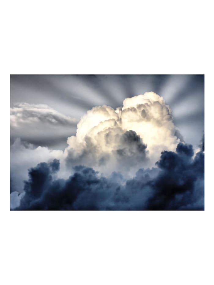 Fototapete Sonnenstrahlen am Himmel
