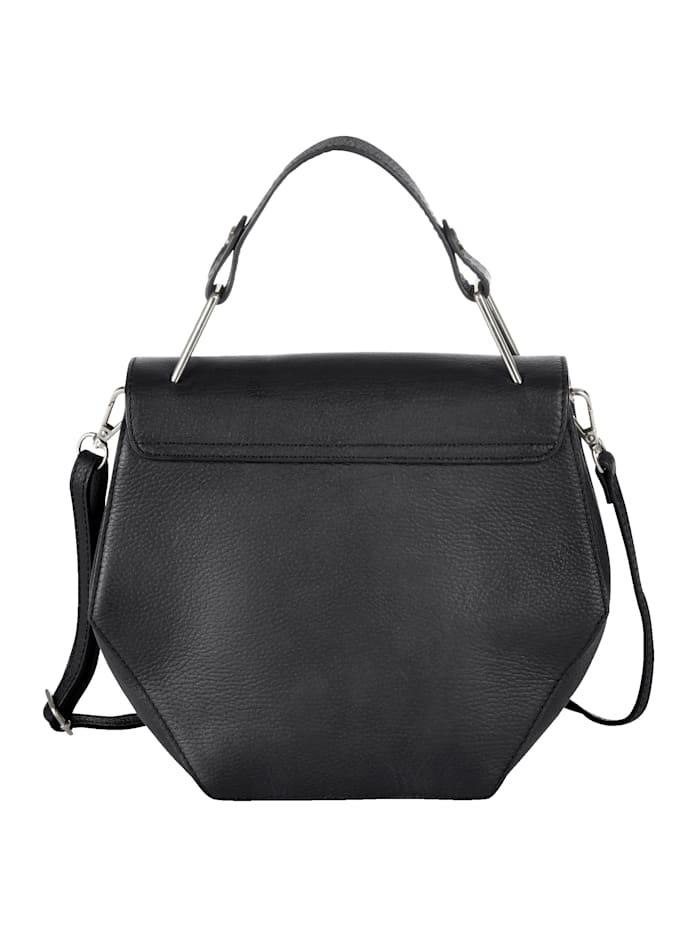 Tasche in leicht eckiger Form