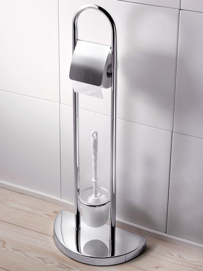 Toiletborstel- en toiletrolhouder