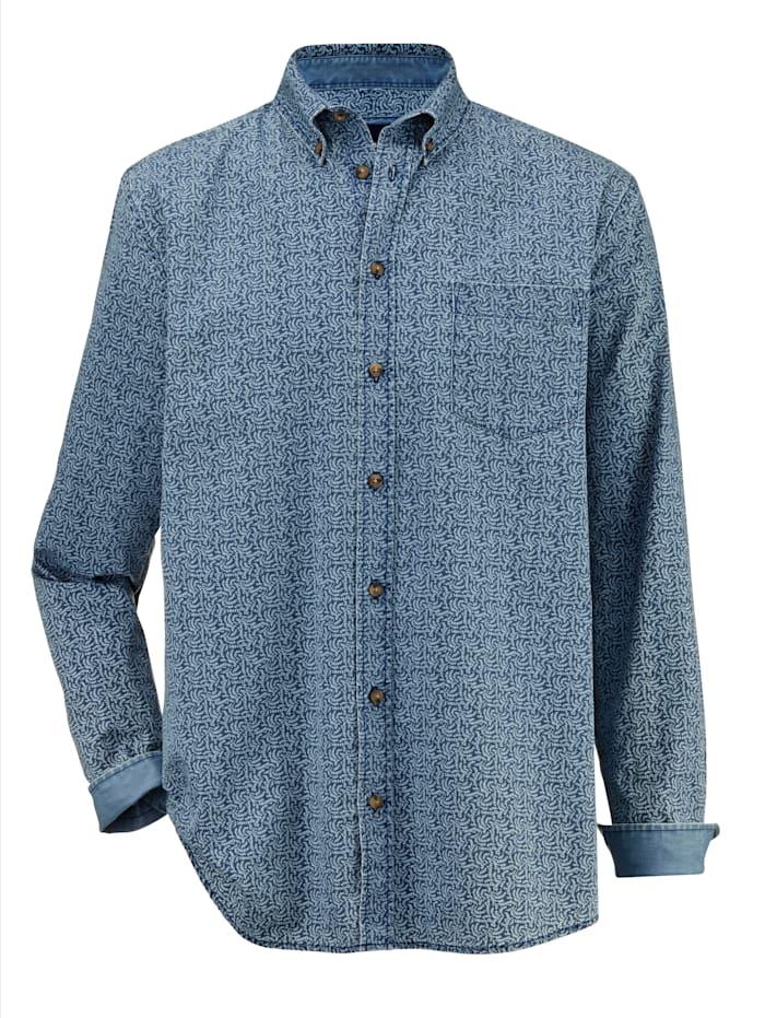 BABISTA Jeansoverhemd met washed effecten, Blauw