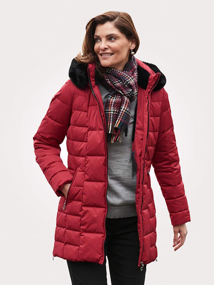 MONA Jacke mit Wetterschutz, Rot
