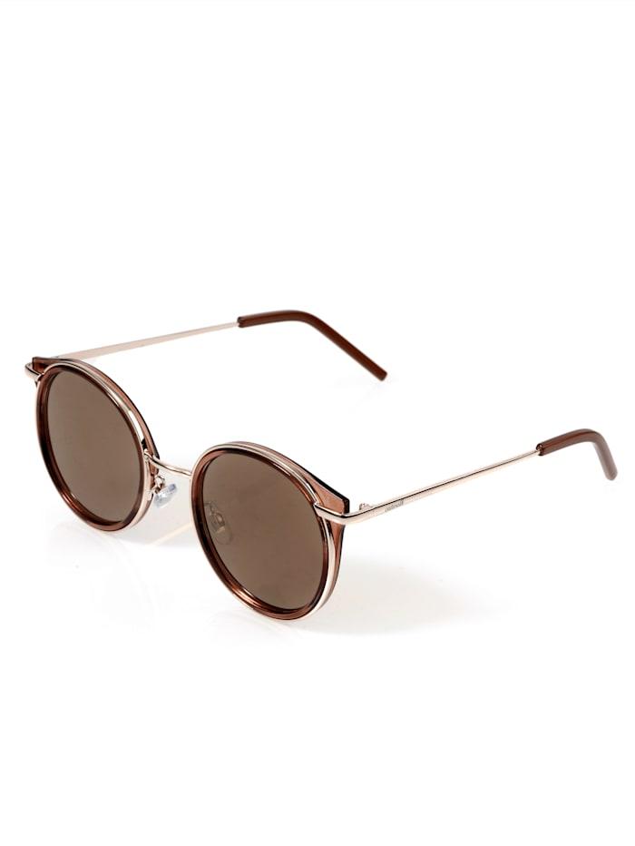 Alba Moda Sonnenbrille mit Vollrandfassung, Nude