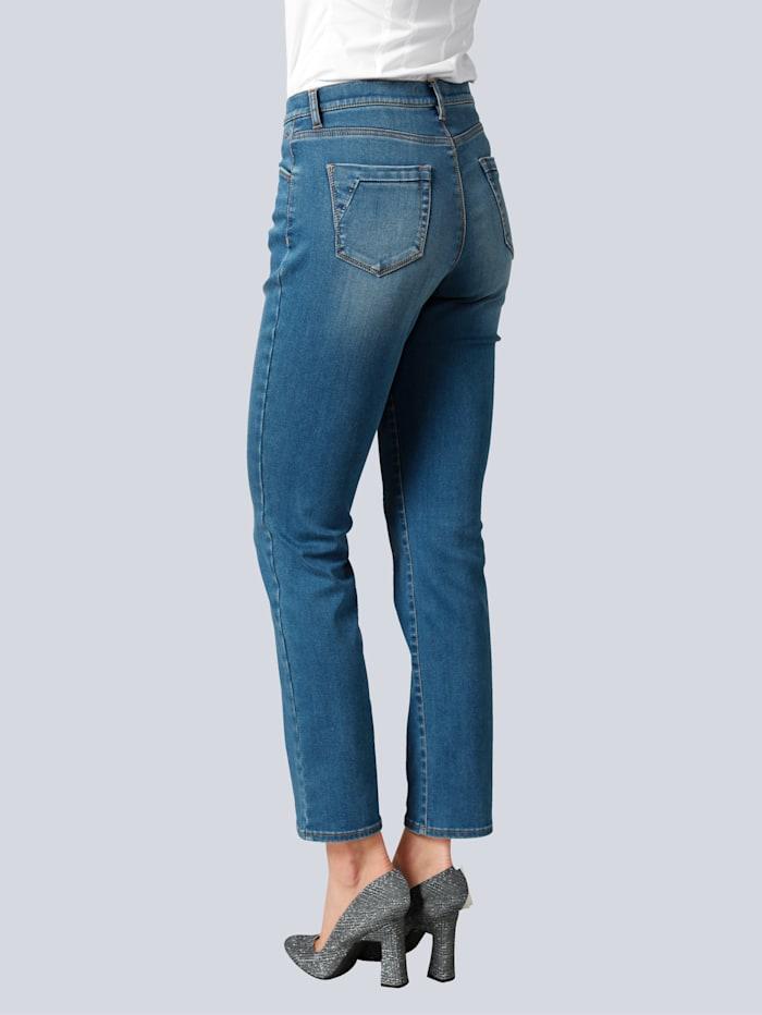 Jeans 'Carola' mit Swarowski-Ziersteinchen