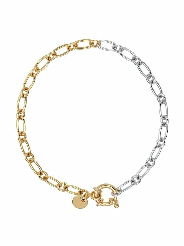 Noelani Armband für Damen, Sterling Silber 925, Bicolor