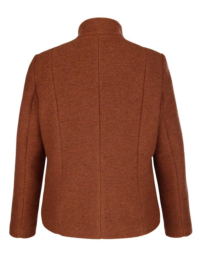 Jacke aus hochwertiger Woll-Qualität