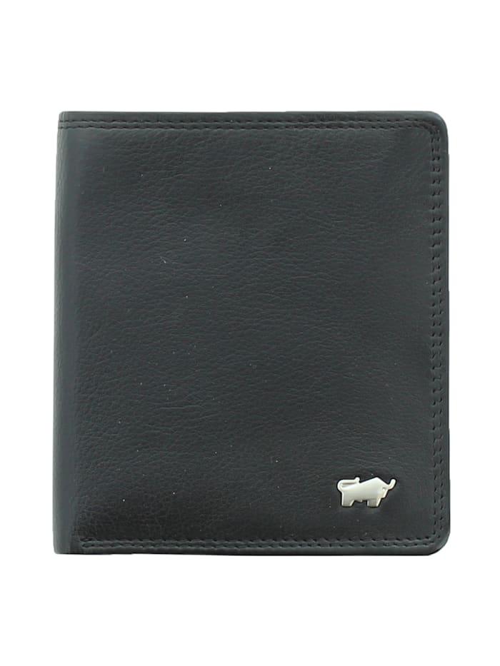 Braun Büffel Geldbörse GOLF 2.0 in elegantem Design, schwarz