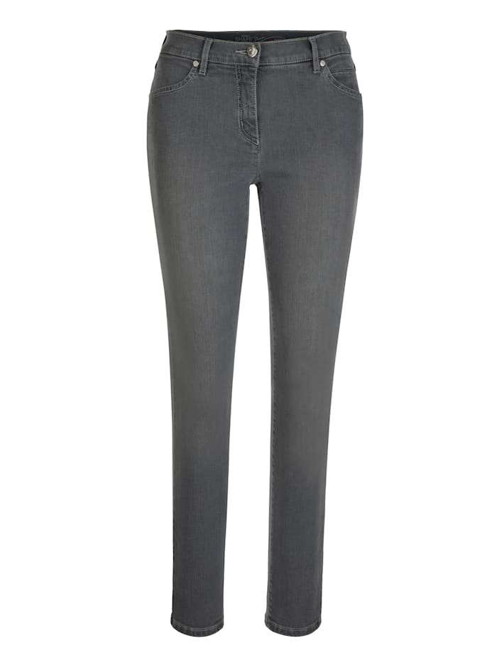 Toni Jeans made from coloured denim, Dark Grey