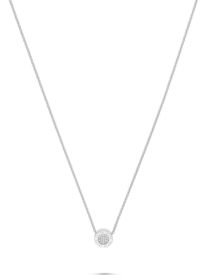 JETTE Damen-Kette Pivot 925er Silber rhodiniert 53 Zirkonia