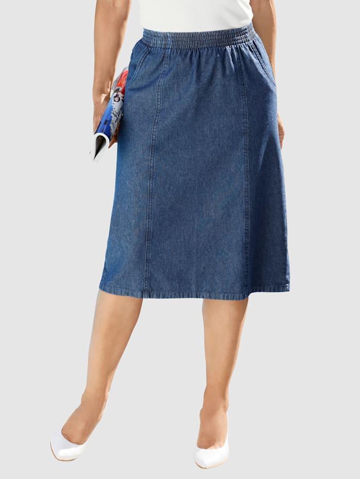 Paola Jeansrock in leicht ausgestellter Form, Dark blue