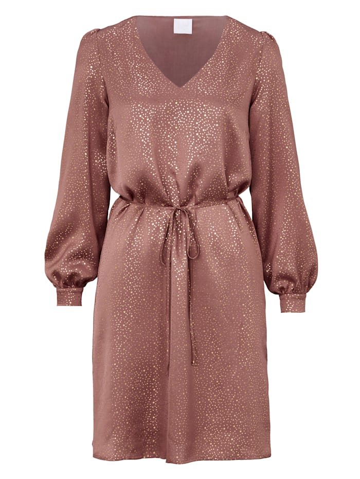 REKEN MAAR Kleid, Altrosa