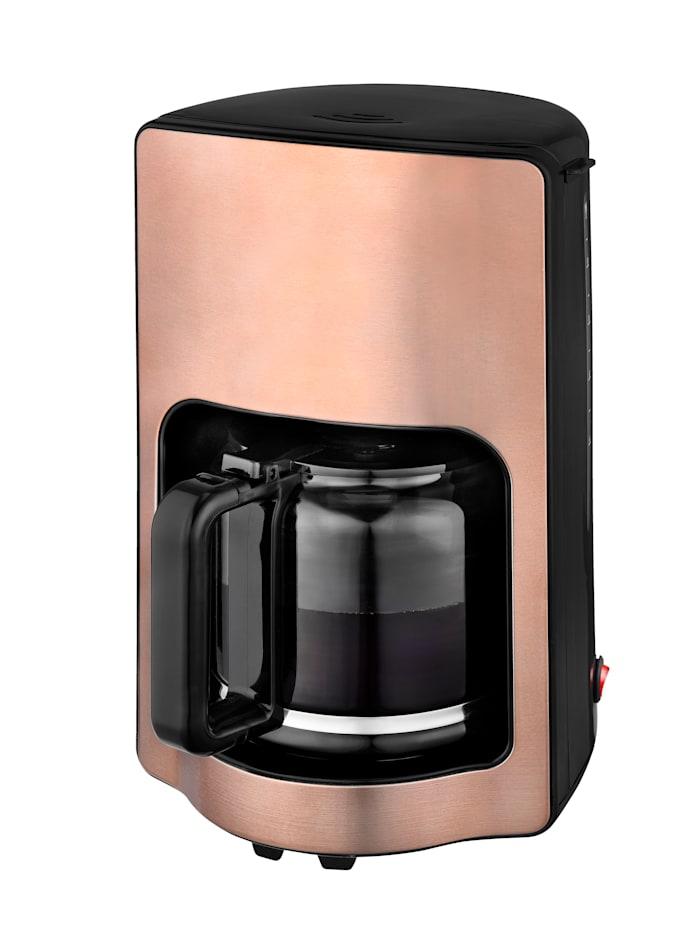 Kalorik Kaffeeautomat mit Glaskanne TKG CM 1220 K, KUPFER