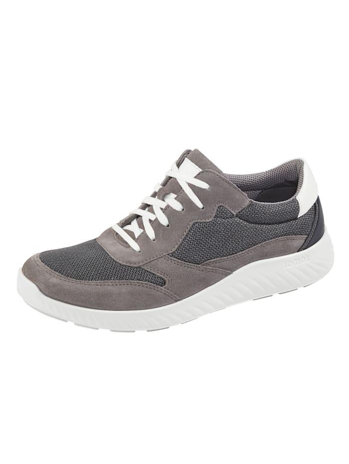 Jomos Schnürschuh mit moderner Laufsohle, Grau