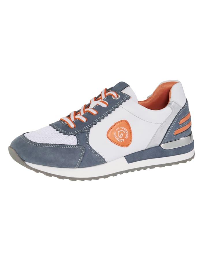 Remonte Sneaker in een harmonieuze kleurencombinatie, Blauw
