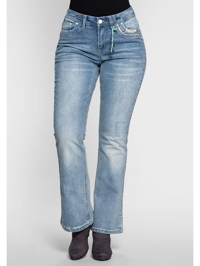 sheego by Joe Browns sheego by Joe Browns Jeans, light blue Denim