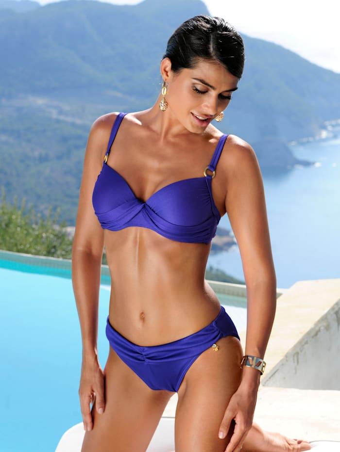 PushUp-Bikini mit Rippmuster