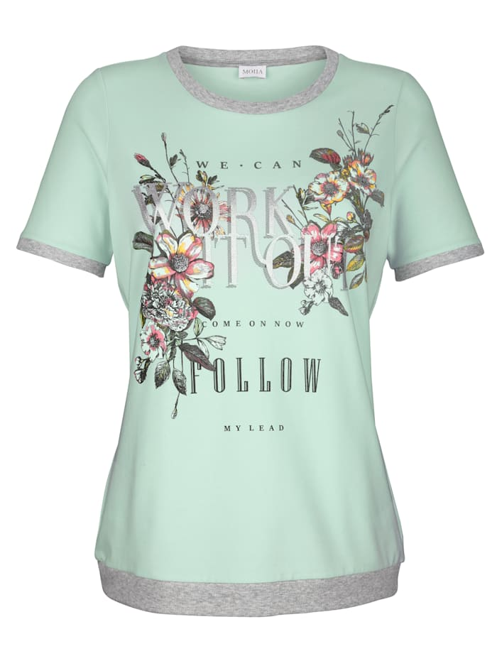 Shirt mit Blumendruck