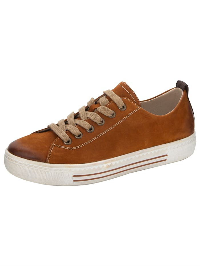 Remonte Sneaker met SoftFoam binnenzool, Cognac