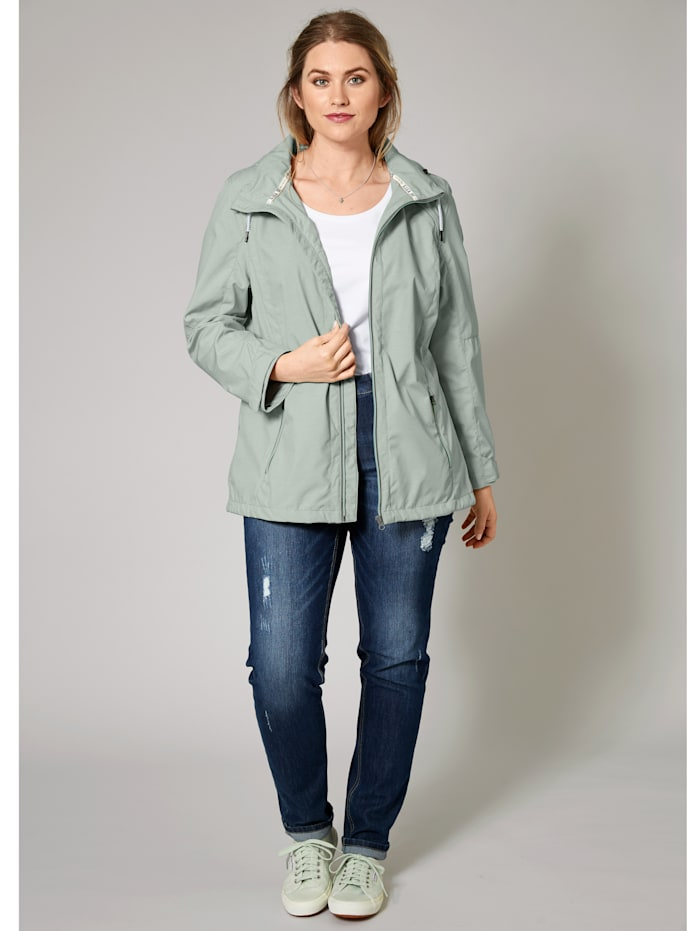 Softshell-Jacke mit Kapuze