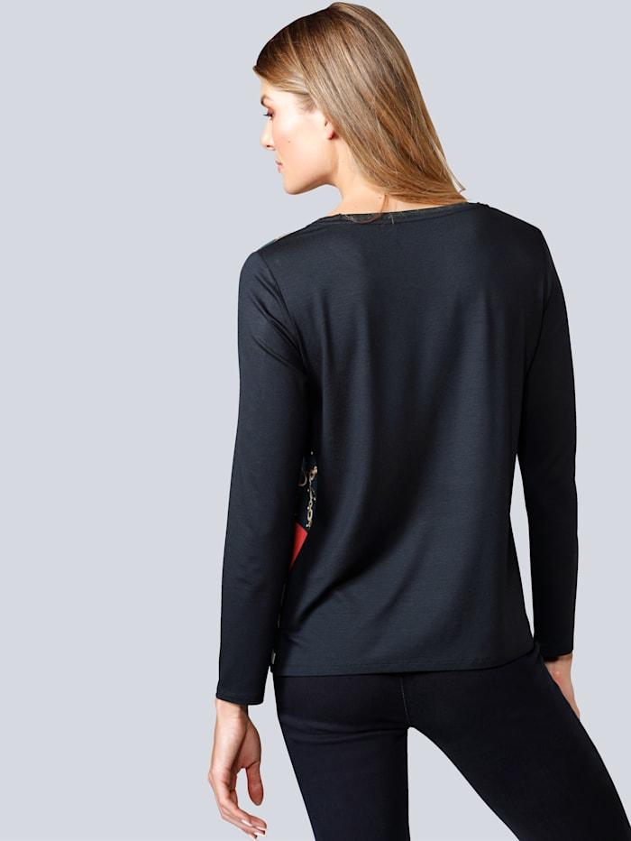 Shirtbluse im angesagten Kettendruck
