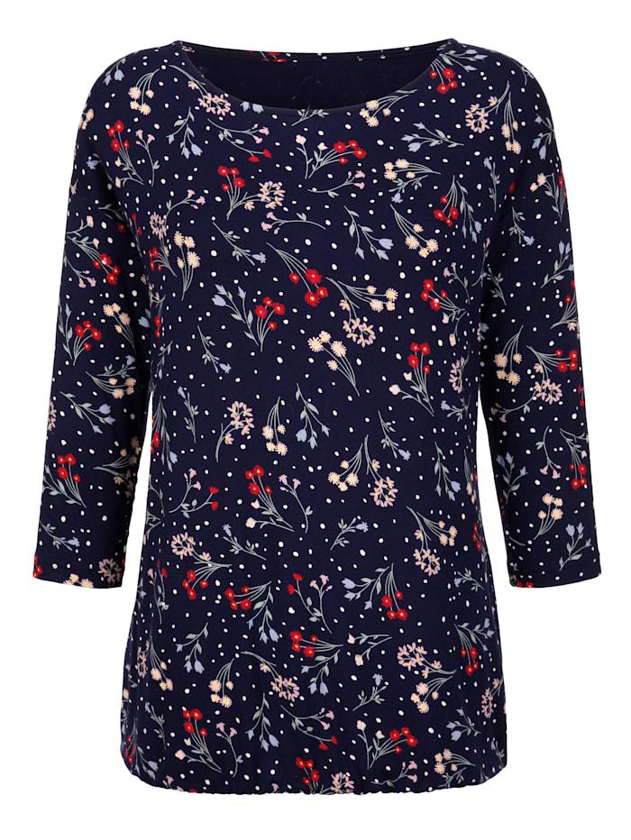 T-shirt à superbe motif floral
