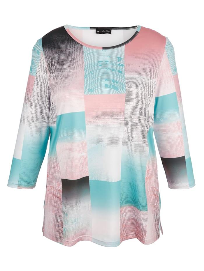 Shirt im hübschem Druckdessin