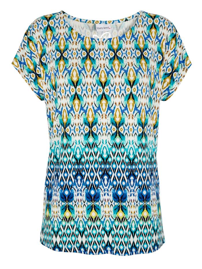 Tričko s módnou etno potlačou