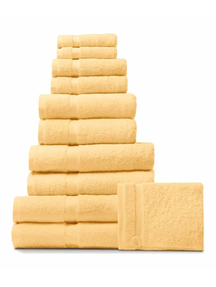Rhomtuft Handdoeken, mais