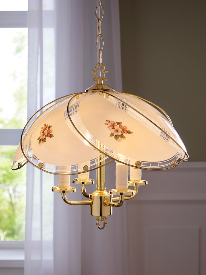 Hanglamp Florenz, Goudkleur