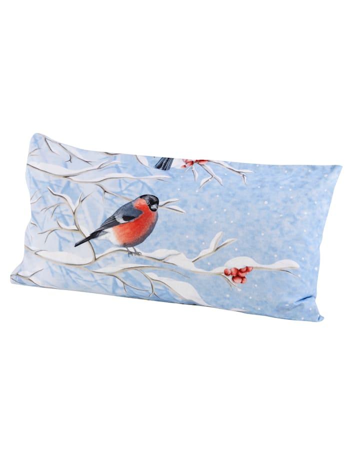Flanell sengesett -Vinterfugler- 2 deler