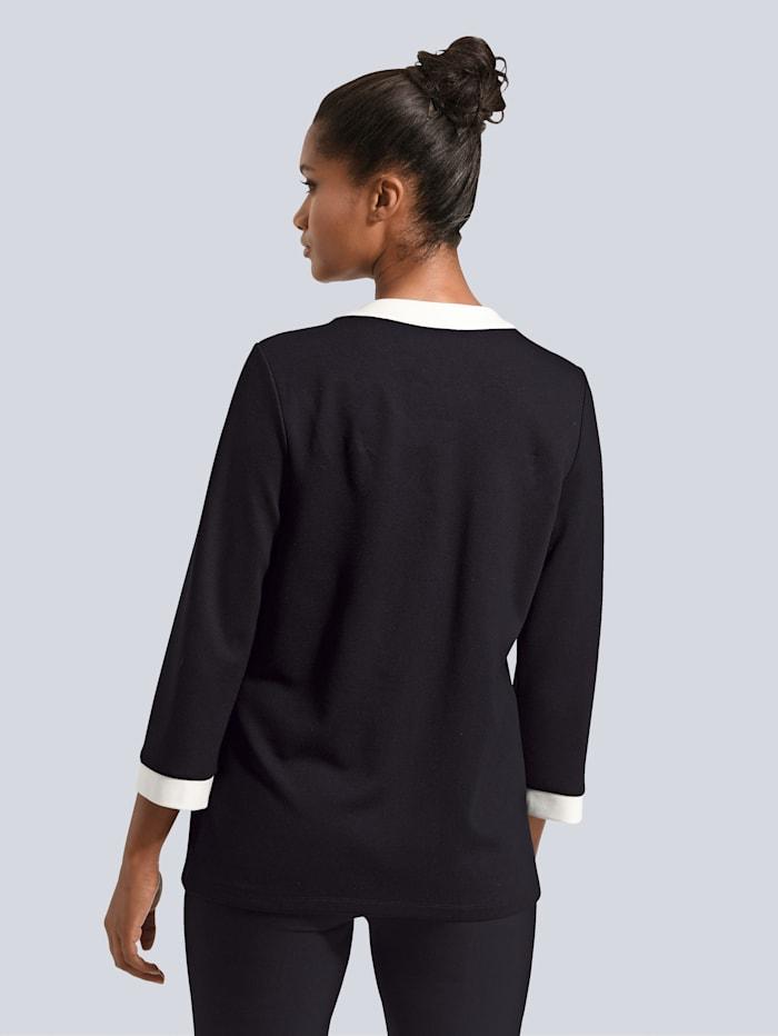 Shirt-Jacke mit Blenden