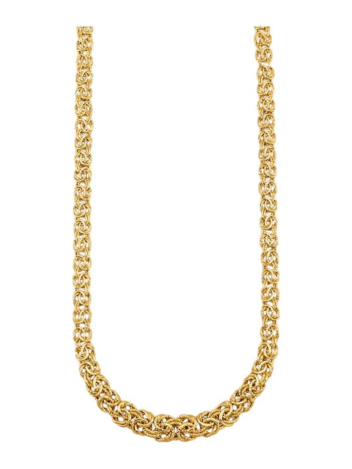 Diemer Gold Koningsketting van 14 kt. goud, Geelgoudkleur