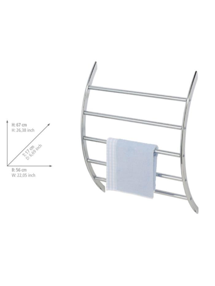 Exclusiv Wand-Handtuchhalter mit 5 Stangen, Handtuchstange