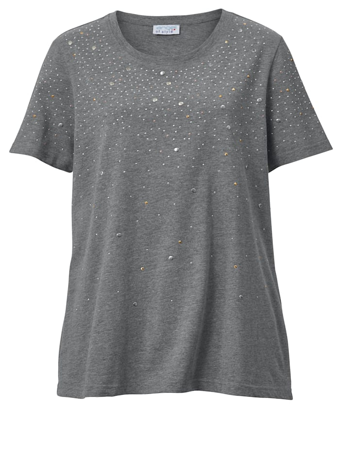 Shirt mit glänzenden Plättchen