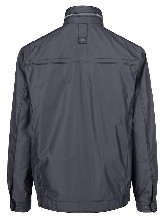 Jacke mit feiner zweifarbiger Struktur