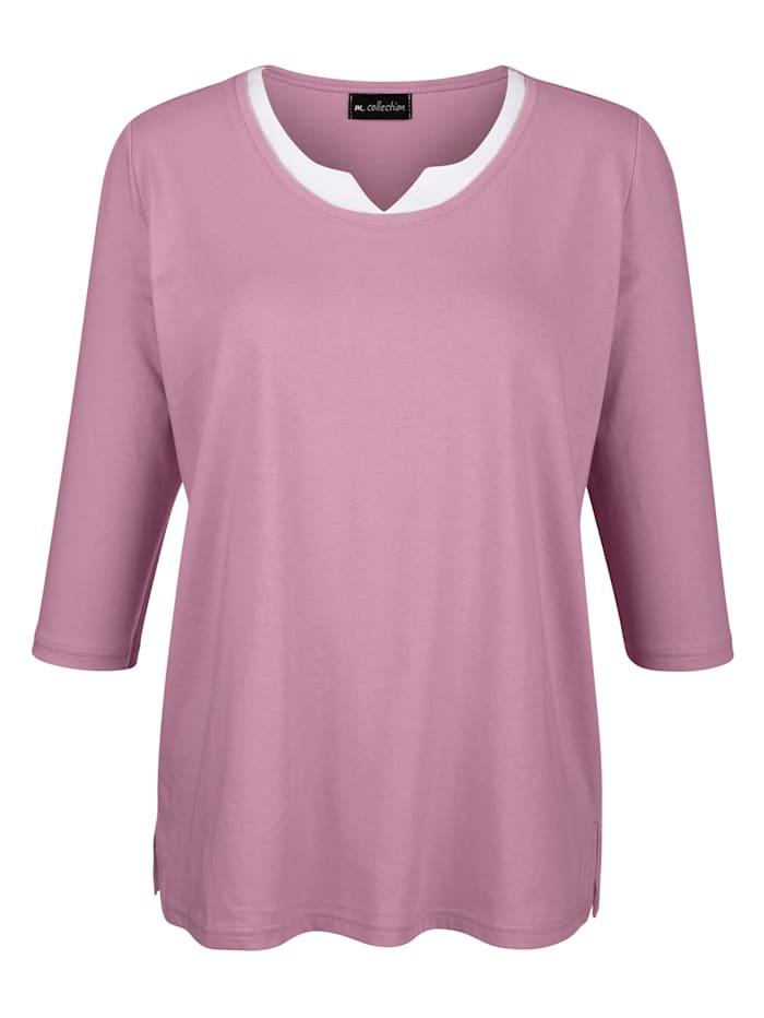 Shirt in 2-in-1-look