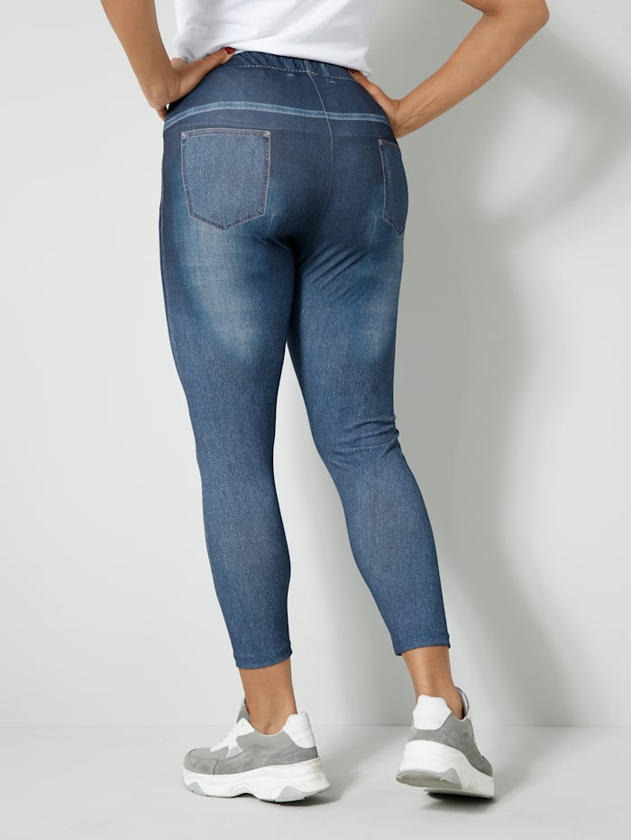 Leggings in Jeans-Optik