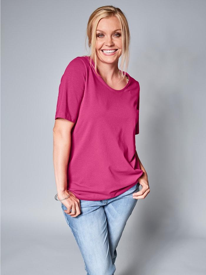 Janet & Joyce Basic Shirt, Pink