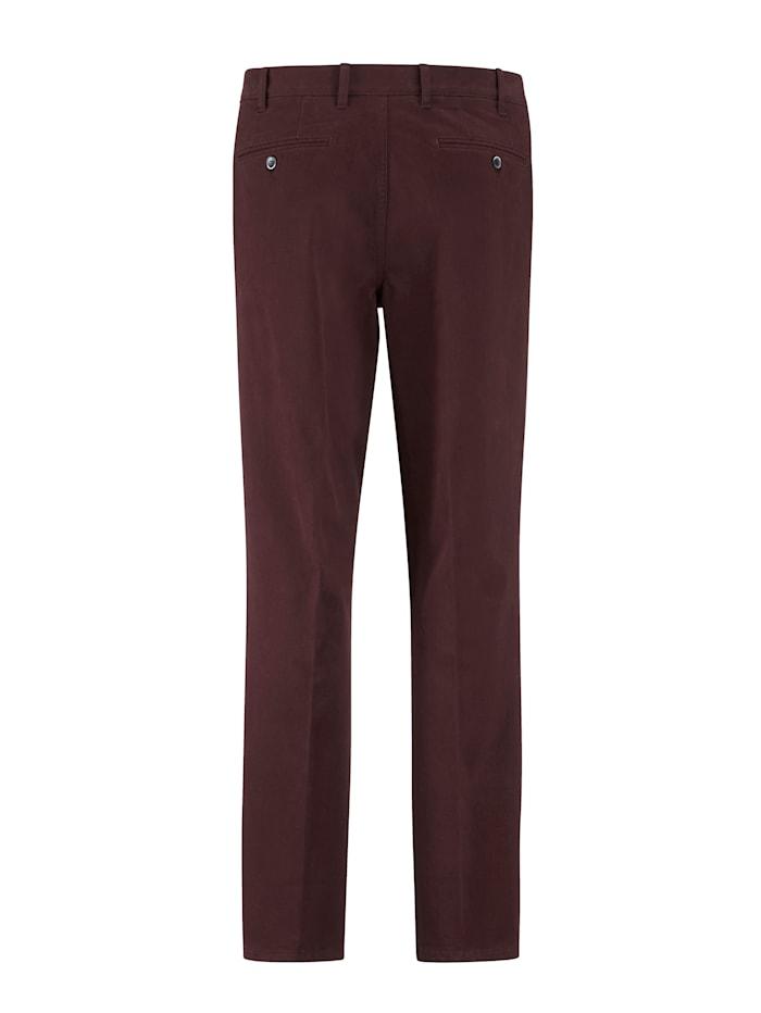 Pantalon à pinces avec 7 cm d'ampleur supplémentaire à la ceinture