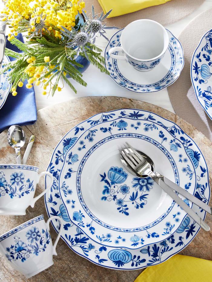 Service de table 12 pièces, motif traditionnel