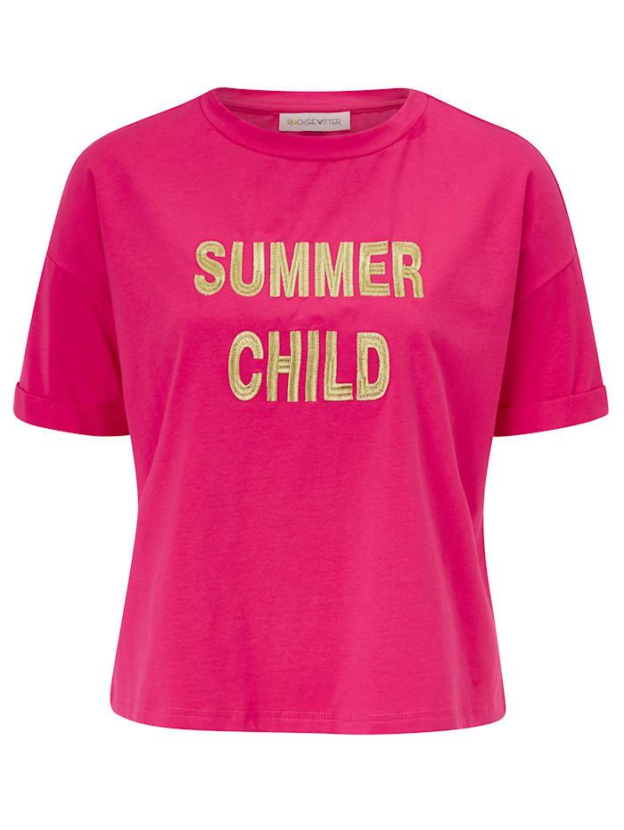 ROCKGEWITTER T-Shirt, Rot