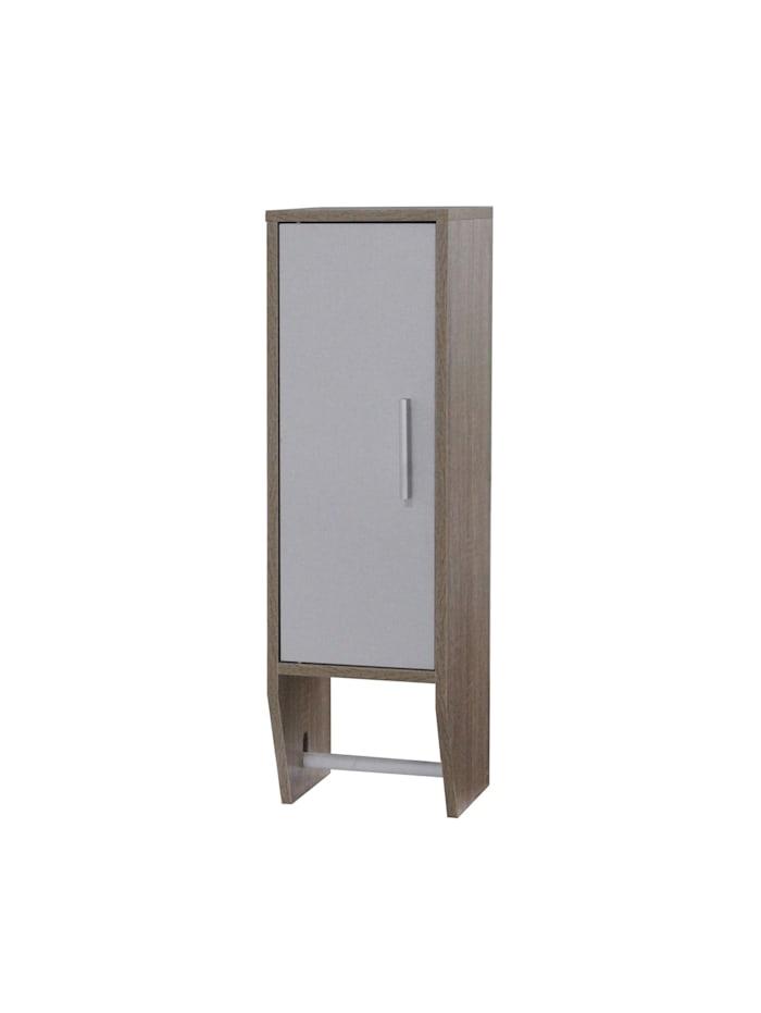 HTI-Line Toilettenpapierhalter Leto, Braun, Weiß
