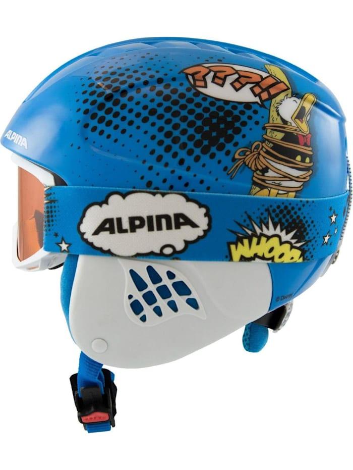 Alpina Skihelm CARAT SET DISNEY