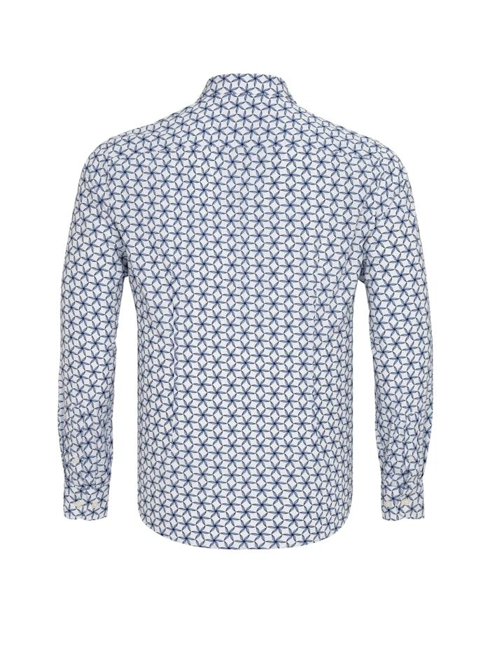 Hemd Fabien mit geometrischem Muster