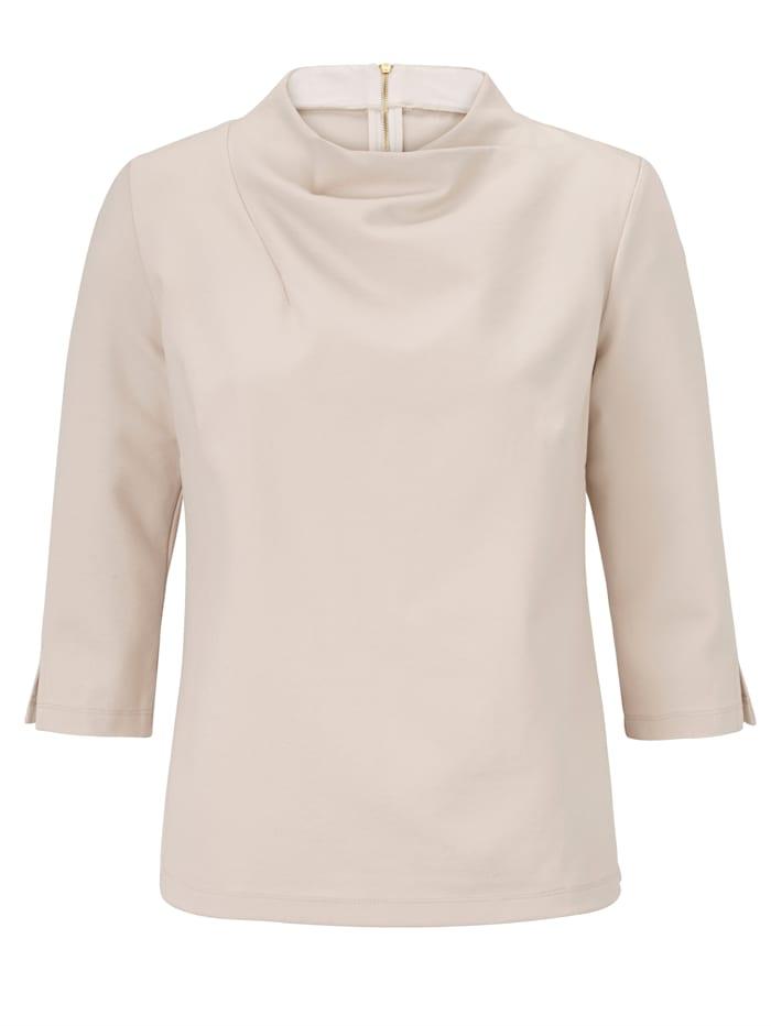 REKEN MAAR Shirt, Creme-Weiß
