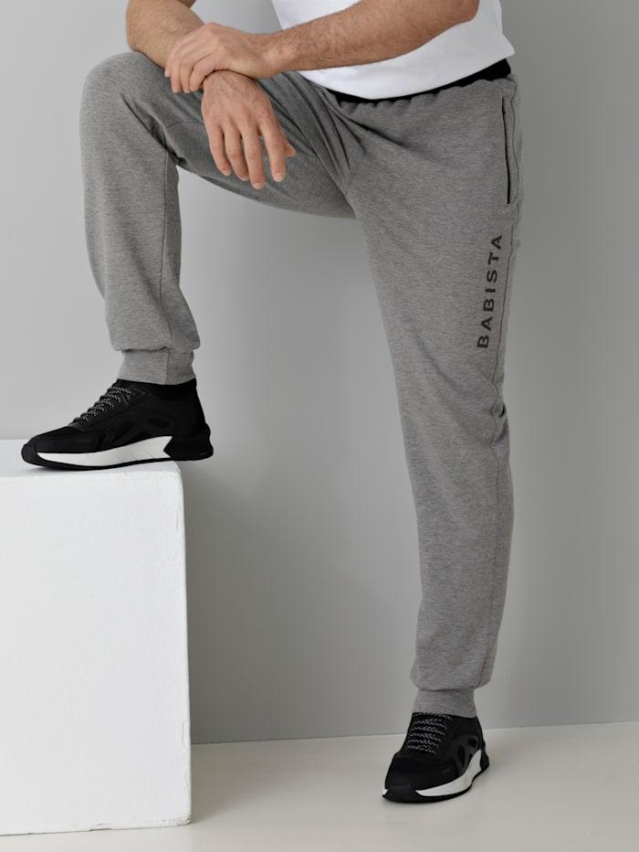 BABISTA Jogginghose mit Reißverschluss-Taschen, Grau