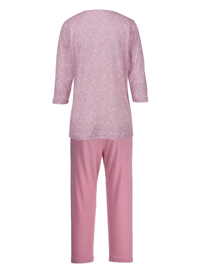 Pyjama met sierpaspels